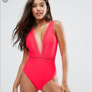 Ted Baker Plunging One Piece